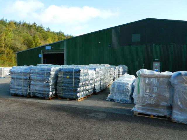 Capital Valley Plastics warehouse